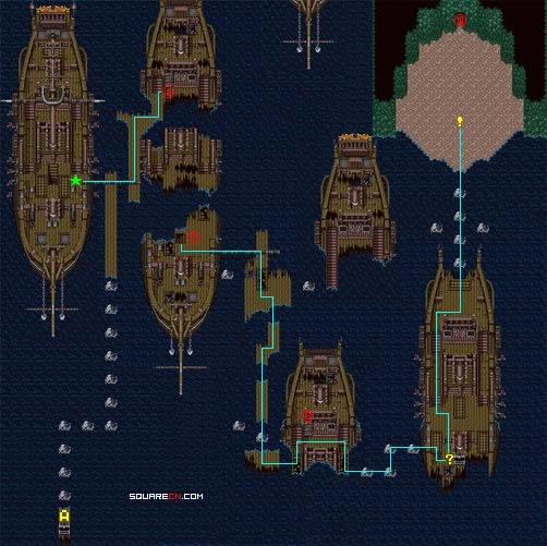 最终幻想5|FF5|天幻网专题|Army制作地图