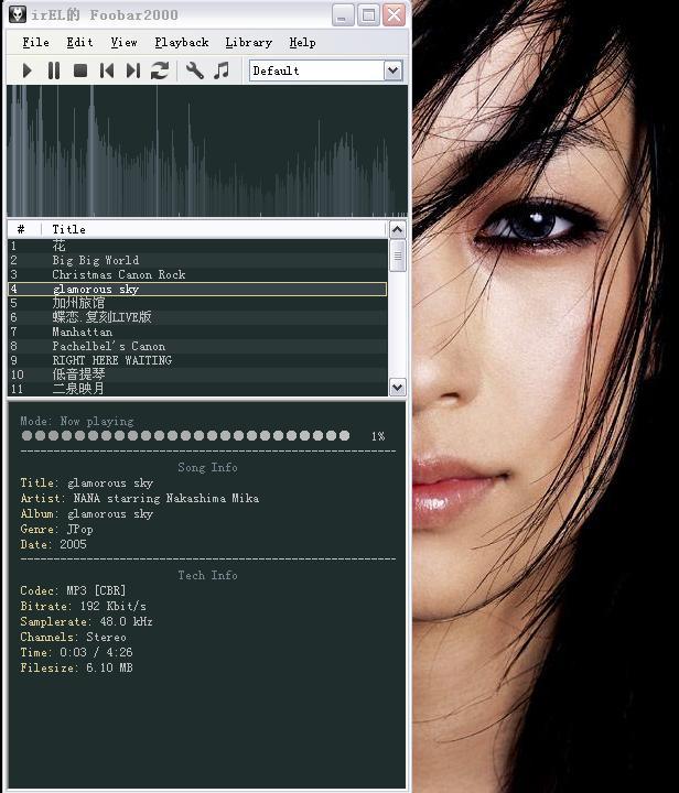 Foorbar2000 v0.9.4.4 英文轻度美化版(edit by irEL)
