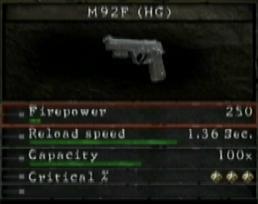 【PS3】《生化危机5》所有武器资料一览(3月15日补完)